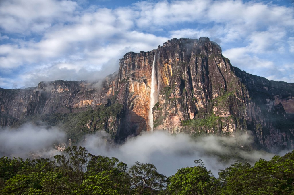Angel Falls from a distance