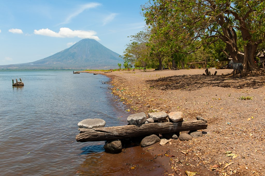 Beach of Ometepe Island