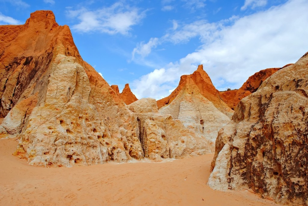 Morro Branco Sand Canyon Region
