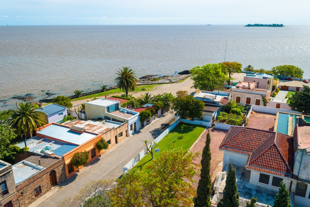 View from Lighthouse of Colonia del Sacremento