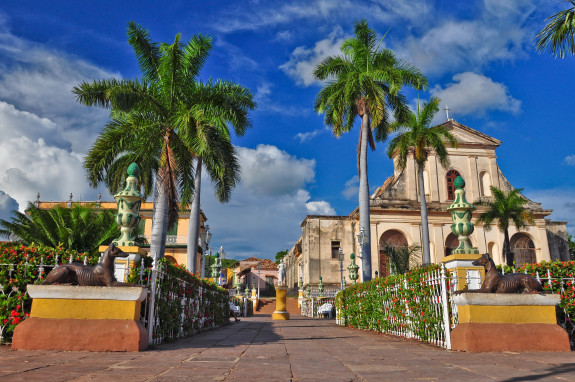 Trinidad is a town in Cuba. 500-year-old city with Spanish colonial architecture is UNESCO World Heritage site. Trinidad is famous for its lovely cobblestone streets pastel coloured houses with elaborate wrought-iron grills.